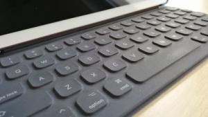 Das Smart Keyboard eines iPad Pro 9.7