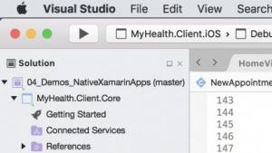 Visual Studio für den Mac ist erhältlich.