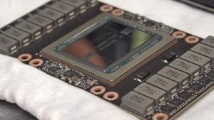 Tesla V100 mit GV100-Chip im SXM2-Formfaktor
