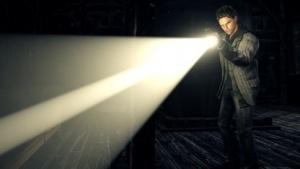 Alan Wake sucht im Dunklen nach seiner Frau ...