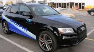 Ein von Delphi und Mobileye ausgestatter autonomer Audi