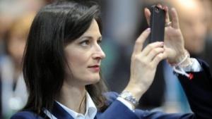 Die künftige EU-Digitalkommissarin Marija Gabriel