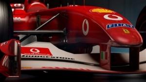 Auch der Schumi-Ferrari ist in F1 2017 enthalten.