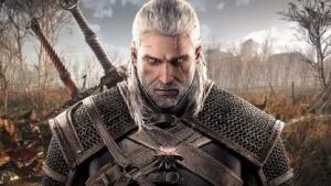 Geralt von Riva auf einem Artwork von The Witcher 3