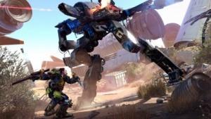 In The Surge gibt es auch Kämpfe gegen riesige Roboter.