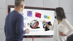 Das Jamboard ermöglicht Videokonferenzen und digitales Brainstorming.