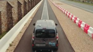 Die Qualcomm-Teststrecke im französischen Versailles