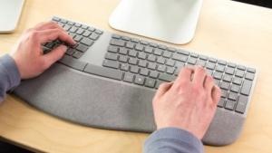 Microsofts Surface Ergonomische Tastatur