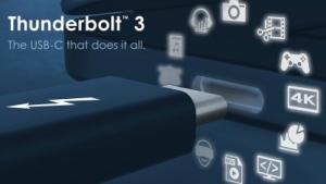 TB3 unterstützt viele Funktionen.