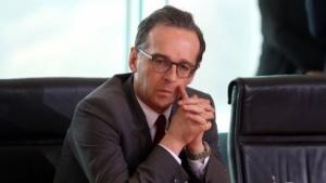 Bundesjustizminister Heiko Maas bei einer Kabinettssitzung.