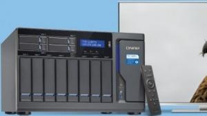 Das NAS kann als Media-PC verwendet werden.