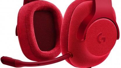 Das Headset G433 besteht zum Teil aus modernen Mesh-Materialien.