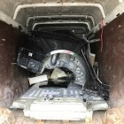 Bundespolizei: Gestohlener Tesla in Einzelteilen gefunden