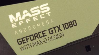 Max-Q für Geforce-basierte Gaming-Notebooks