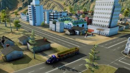 In Transroad USA baut der Spieler ein Logistikunternehmen auf.