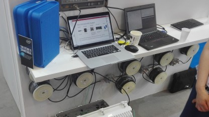Cisco zeigt frühen Prototypen in Köln.