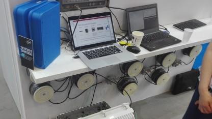 Cisco zeigt frühen Prototyp in Köln.