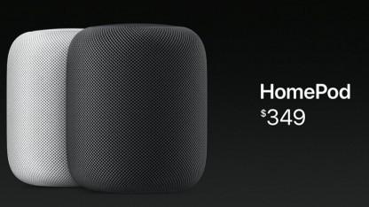Apples smarter Lautsprecher Homepod