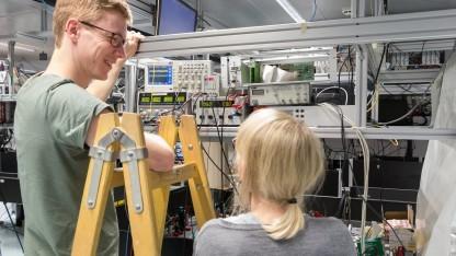 Golem.de war zu Besuch im Quantenlabor der Universität Innsbruck.