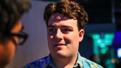 Palmer Luckey - Mitgründer von Oculus VR - auf einer Veranstaltung