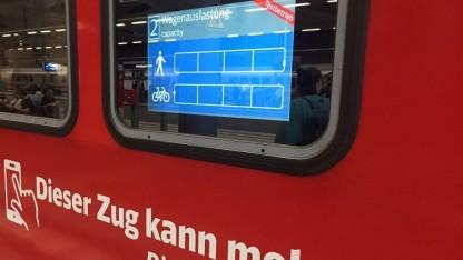 Erfassung der Fahrgast- und Fahrräderanzahl