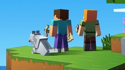 Minecraft: Update mit Cross-Plattform-Support und besserer Grafik