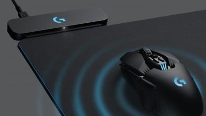 G903 mit Powerplay-Pad