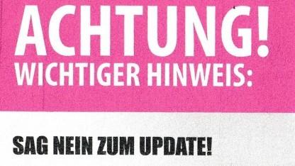 Der Flyer von Tintenmarkt.de
