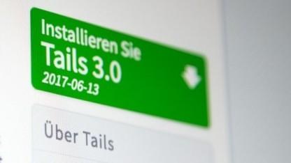 Tails ist in Version 3.0 erschienen.