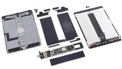 Zerlegtes iPad Pro 10,5 Zoll