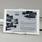Falt-E-Paper: E-Ink stellt aufklappbaren E-Book-Reader vor