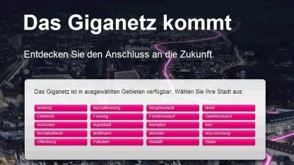 Alte Werbung der Telekom