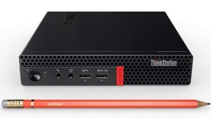 Lenovos neuer Tiny kann bis zu sechs Bildschirme ansteuern.