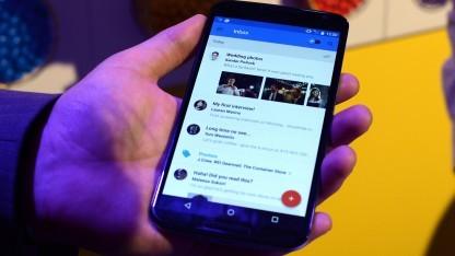 Gmail-App auf einem Smartphone