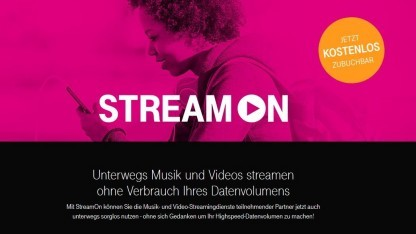 Telekom hat Stream On am 19. April gestartet.