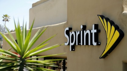 Sprint Logo in San Marcos, Kalifornien