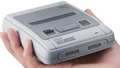 Die SNES Classic Mini erscheint Ende September 2017.