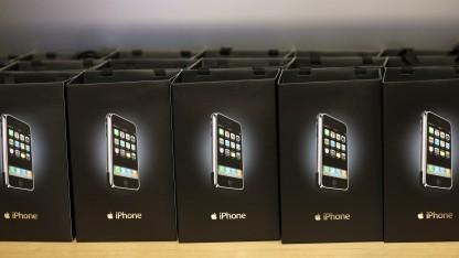 Das iPhone beim damaligen Verkaufsstart