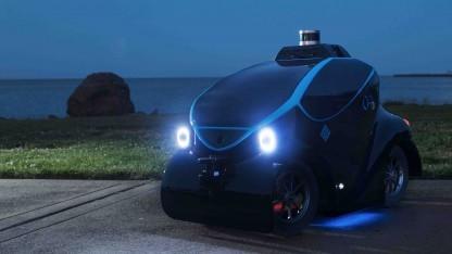 Autonomes Polizeifahrzeug O-R3
