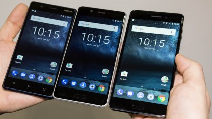 Sie kommen später: Nokia 3, Nokia 5 und Nokia 6