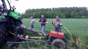 Bauern in Aktion