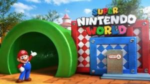Universal Studios Japan und Nintendo heißen Besucher willkommen.