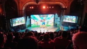 Die Ubisoft-Pressekonferenz auf der E3 2017 in Los Angeles.