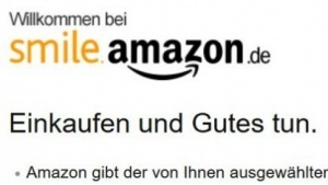 Die Spendenseite Amazon Smile