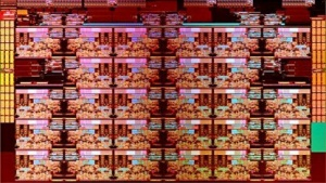 Shot des XCC-Dies mit 28 Kernen