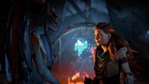 Aloy ist auch in The Frozen Lands die Hauptfigur.