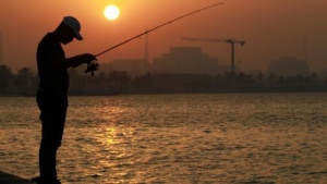 Eine Fishing-Operation der anderen Art.