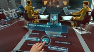 Solche Menüs sieht der Captain in Bridge Crew mit Watson seltener.