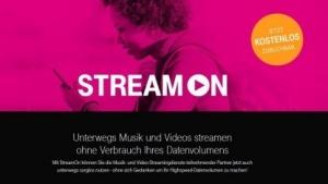 Stream-On-Werbung der Telekom