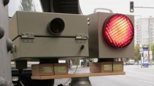 Eine Verkehrskamera